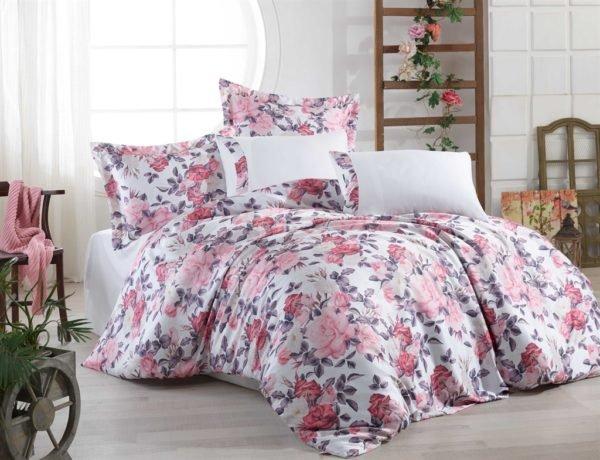 купить Постельное белье Hobby Crash Sateen Natalie Розовый фото