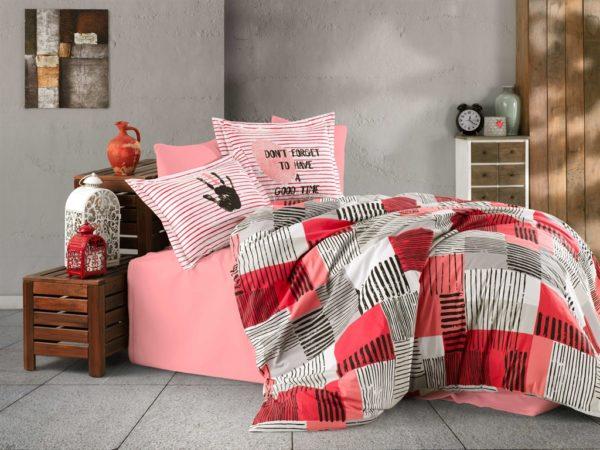 купить Постельное белье Hobby Poplin Bermuda pink Розовый фото