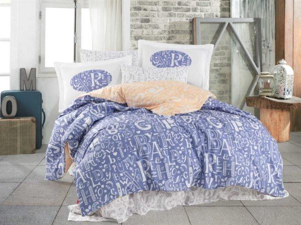 купить Постельное белье Hobby Poplin Dream blue Голубой фото