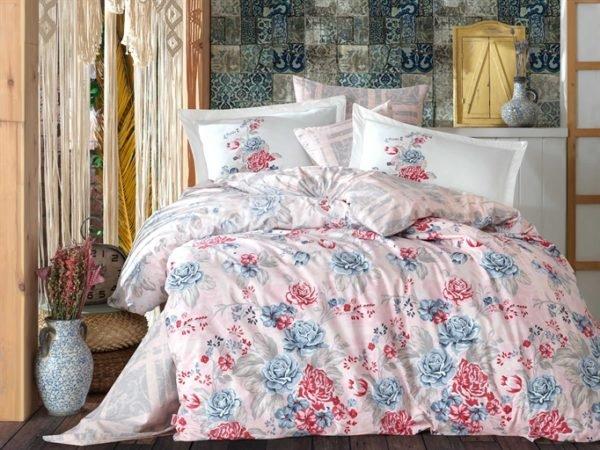 купить Постельное белье Hobby Poplin Florentina Розовый фото