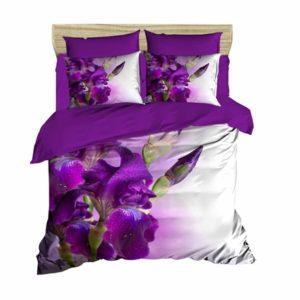 купить Постельное белье Lighthouse Ranforce 3D Iris Фиолетовый фото