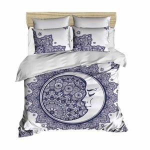 купить Постельное белье Lighthouse Ranforce 3D Moon Фиолетовый фото