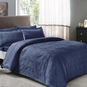 купить Постельное белье TAC жаккард Nodus lacivert Синий|Фиолетовый фото