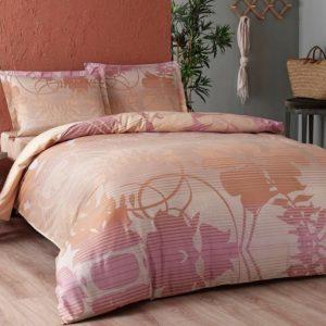 купить Постельное белье TAC сатин Marian pembe v03 Розовый фото