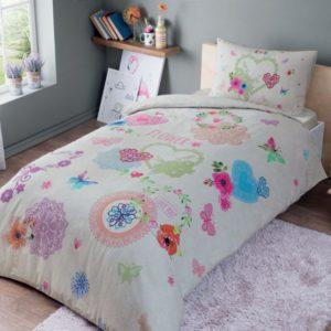 купить Постельное белье TAC Ranforce Teen Dottie v01 pembe Розовый фото