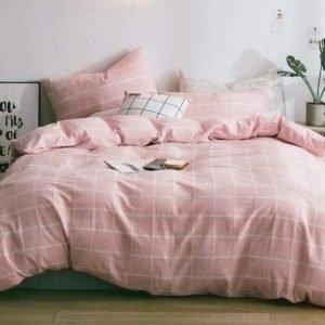 купить Постельное белье La Scala лен L-11 Розовый фото
