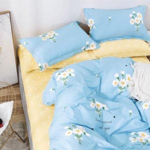 купить Постельное белье La Scala сатин Y230-881 Голубой фото