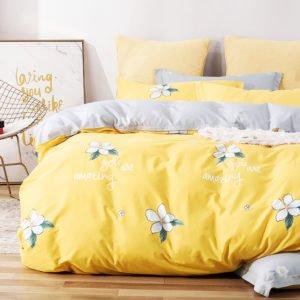 купить Постельное белье La Scala сатин Y230-899 Желтый фото