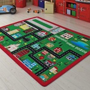 купить Коврик в детскую комнату Confetti City Yesil 100x150 Зеленый фото