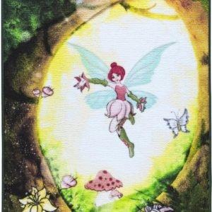 купить Коврик в детскую комнату Confetti Fairy Forest Yesil 100x150 Зеленый фото