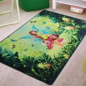 купить Коврик в детскую комнату Confetti Fairy Song Yesil 100x150 Зеленый фото