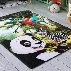 купить Коврик в детскую комнату Confetti Selfie Yesil Yesil 100x150 Зеленый фото