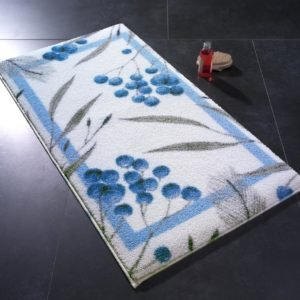 купить Коврик для ванной Confetti Allium Mavi Синий фото