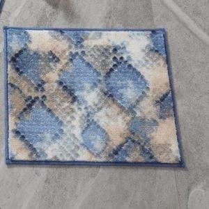 купить Коврик для ванной Confetti Snakeskin Mavi Синий фото