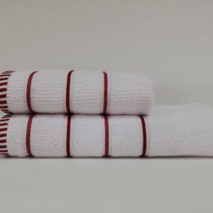купить Набор полотенец Class ET.17.004 White Red Белый фото
