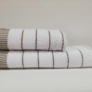 купить Набор полотенец Class HT JDY.009 White Brown Белый фото