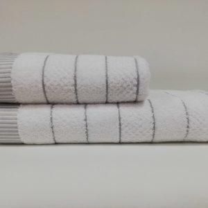 купить Набор полотенец Class HT JDY.009 White Grey Белый фото