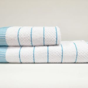 купить Набор полотенец Class HT JDY.009 White Turquoise Белый фото