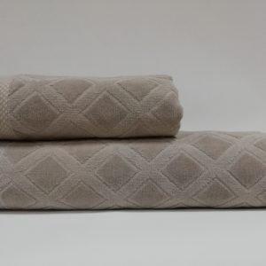 купить Набор полотенец Class Karo Beige Бежевый фото