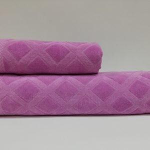 купить Набор полотенец Class Karo Lilac Лиловый фото