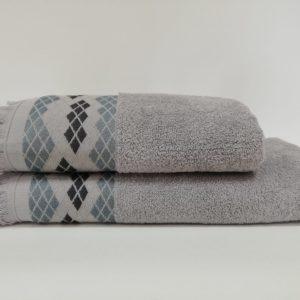 купить Набор полотенец Class Route Grey Серый фото