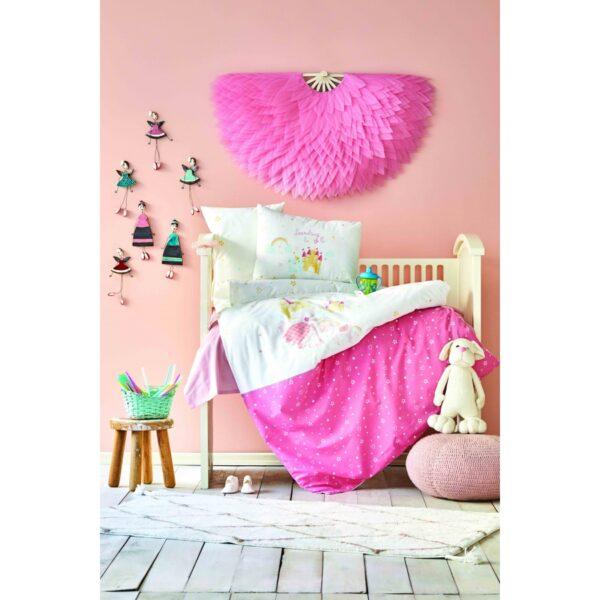 купить Постельное белье для младенцев Karaca Home - Lovable pudra 2020-2 Розовый фото