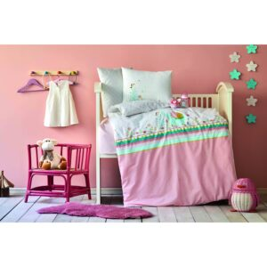 купить Постельное белье для младенцев Karaca Home - Teeny pudra 2020-2 Розовый фото