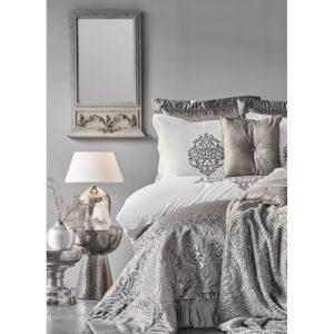 купить Постельное белье с покрывалом и пледом Karaca Home - Camilla antrasit 2020-2 Серый фото