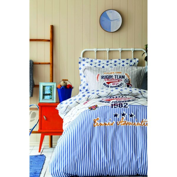 купить Постельное белье Karaca Home - Challenge mavi 2020-2 пике Голубой фото