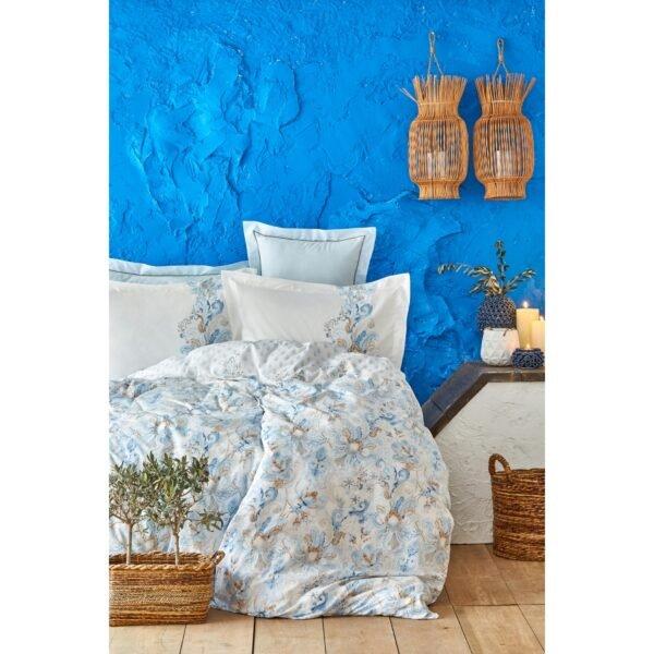 купить Постельное белье Karaca Home - Charlina mavi 2020-2 Голубой фото