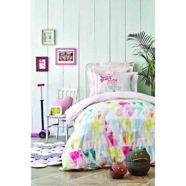 купить Постельное белье Karaca Home - Colrido pembe 2020-2 Розовый фото