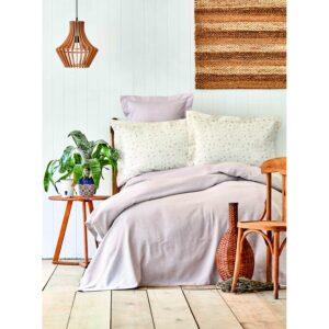 купить Постельное белье Karaca Home - Fois lila 2020-2 pike jacquard Лиловый фото
