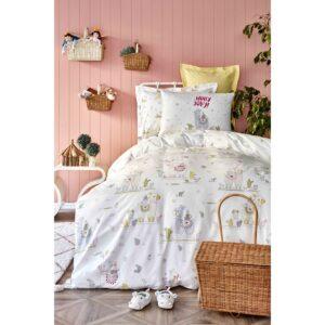купить Постельное белье Karaca Home - Jolly pudra 2020-2 Кремовый фото