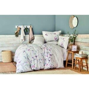купить Постельное белье Karaca Home - Juanna tas 2020-2 Сиреневый фото