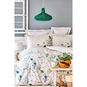 купить Постельное белье Karaca Home - Kristine mor 2020-2 Кремовый фото