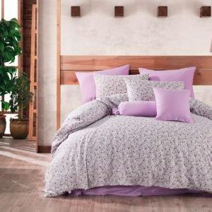 купить Постельное белье Majoli Lily Lilac Лиловый фото