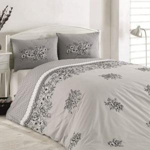 купить Постельное белье Majoli Spring Grey Серый фото