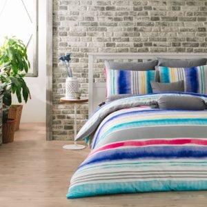 купить Постельное белье Majoli Tempera v2 Голубой фото