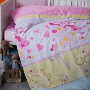 купить Детское постельное белье Brielle 130V1 младенцам Розовый фото