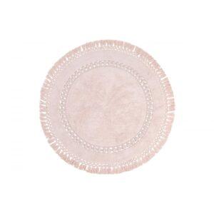 купить Коврик Irya - Bess pink розовый Розовый фото