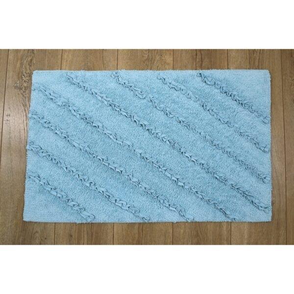 купить Коврик Irya - Shabby aqua голубой Голубой фото