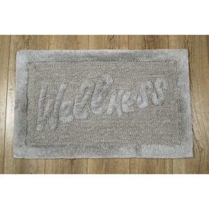 купить Коврик Irya - Welness grey серый Серый фото