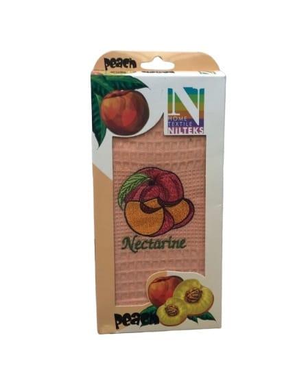 купить Кухонное полотенце Nilteks вафельное Peacn 40*60 Розовый фото