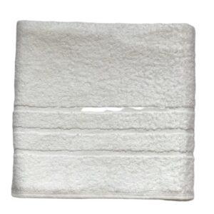 купить Махровое полотенце Zugo Home 450 Hotel Line Бордюр Белый фото