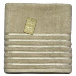 купить Махровое полотенце Zugo Home Long Twist Bayan Бежевый Бежевый фото 2