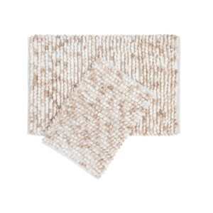 купить Набор ковриков Irya - Ottova beige бежевый Бежевый фото