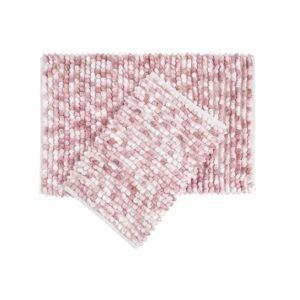 купить Набор ковриков Irya - Ottova pink розовый Розовый фото