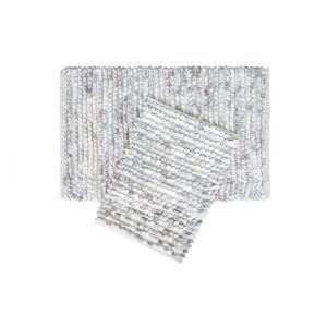 купить Набор ковриков Irya - Ottova silver серый Серый фото