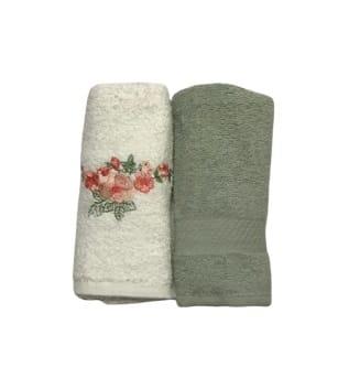 купить Набор кухонных полотенец Casabel 40*60 2 шт Зеленый Зеленый фото