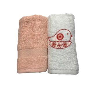 купить Набор кухонных полотенец Casabel 40*60 2 шт pink Розовый фото